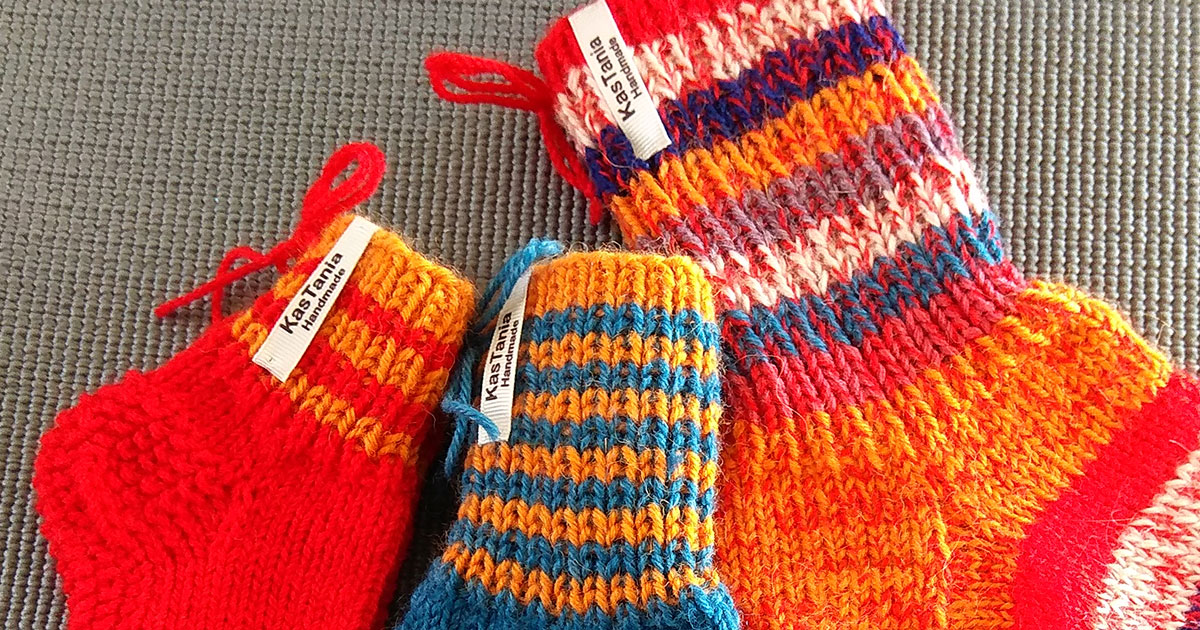 Warm socks for your child