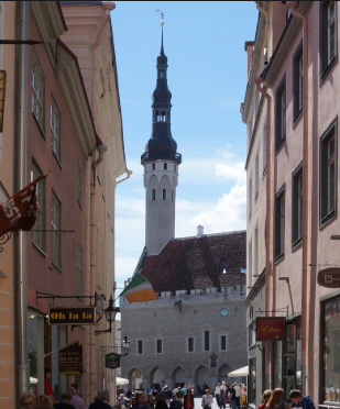 Tallinn and the Old Legends. Who is Thomas?