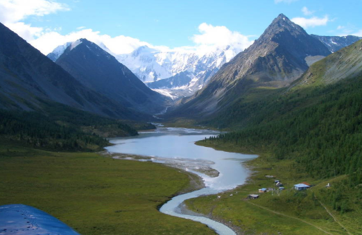 The Altay Mountains in Russia.