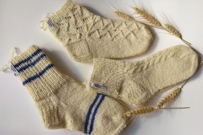 KasTania-Handmade With Love new selection of hand knitted socks made from 100% soft organic sheep wool