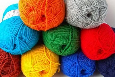 A new collection of wool yarn and thread for KasTania-handmade with love